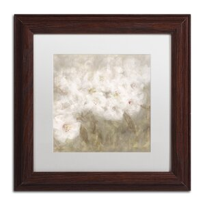 Wild Flowers I by Li Bo Framed Painting Print by Trademark Fine Art