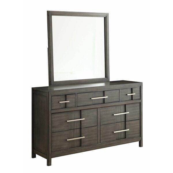 Bartlum 7 Drawer Double Dresser by Latitude Run