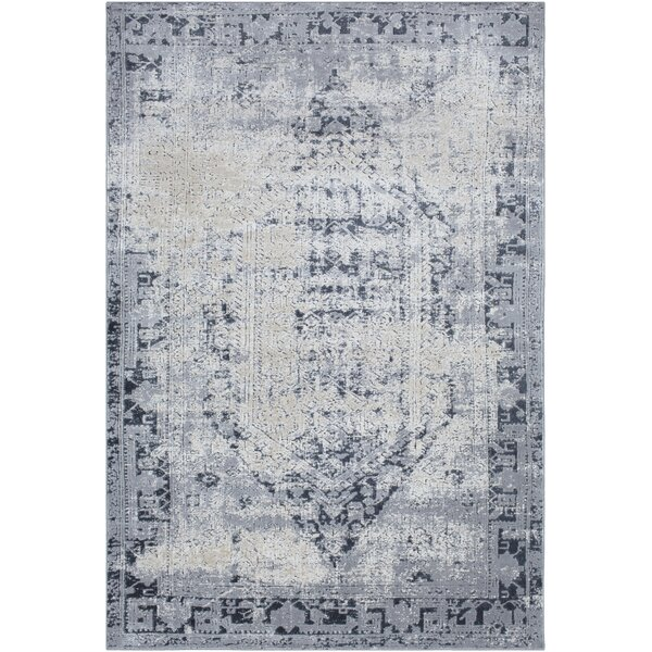 Pickney Gray/Charcoal Area Rug by One Allium Way
