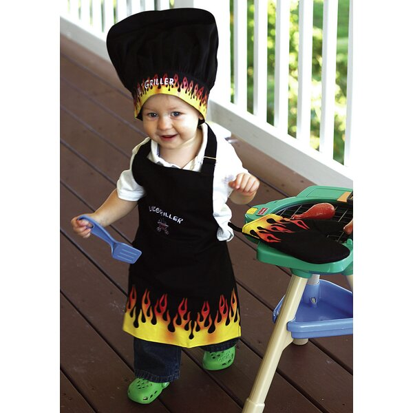 Lil Griller Apron (Set of 3) by Manual Woodworkers & Weavers