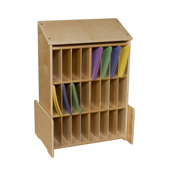 24 Compartment Cubby by Wood Designs