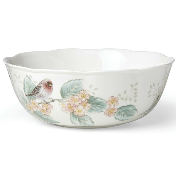 Butterfly Meadow Flutter Serving Bowl by Lenox