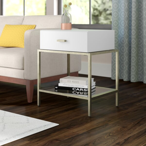 Devine End Table by Brayden Studio