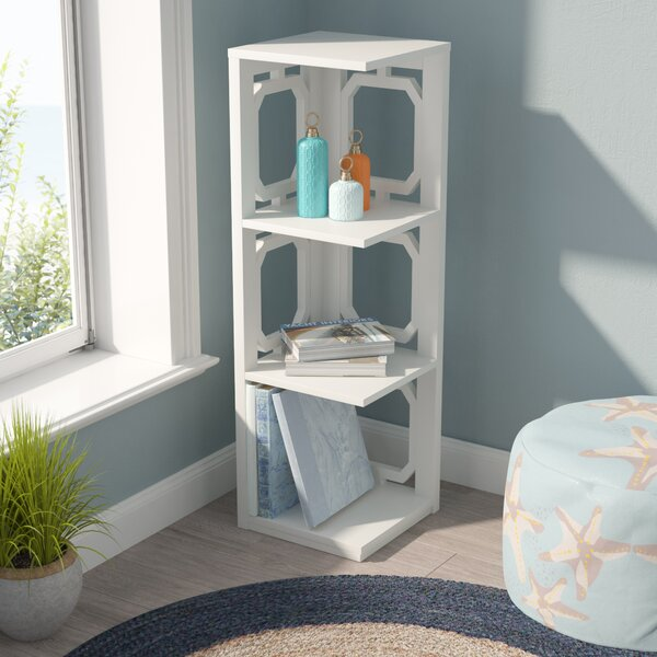 Ardenvor Corner Unit Bookcase by Beachcrest Home