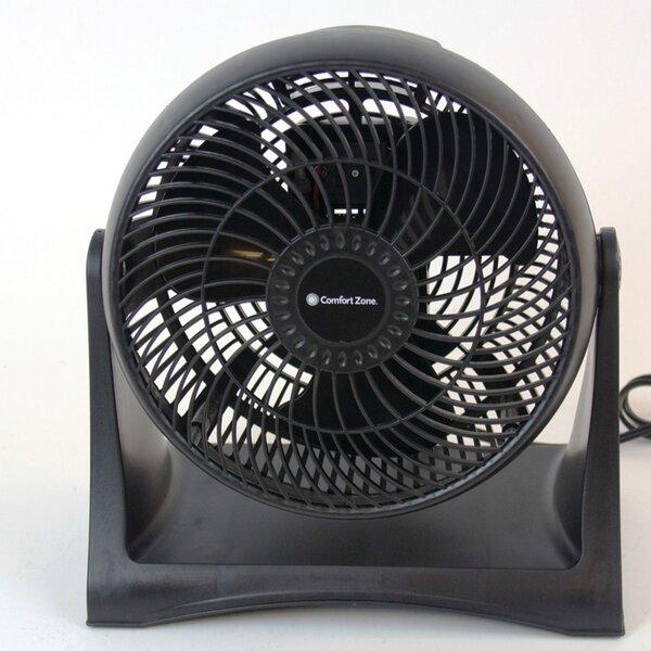 8 Turbo Table Fan by Comfort Zone