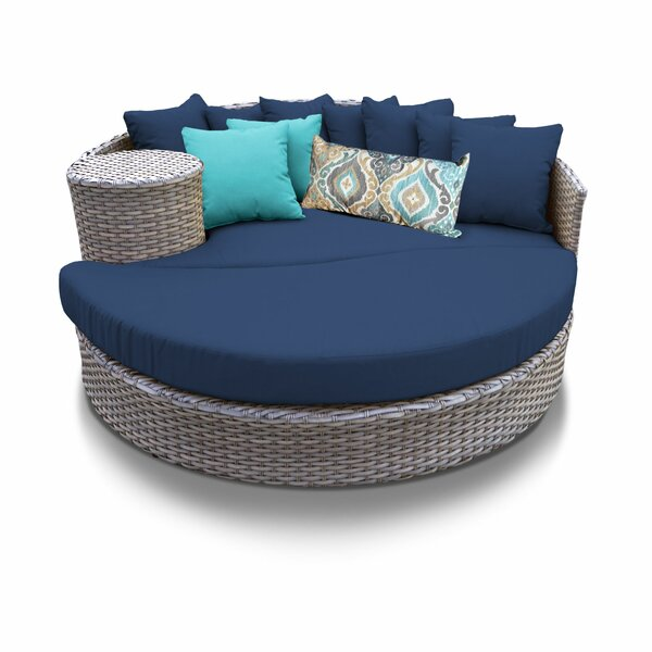 Rochford Patio Daybed With Cushions By Sol 72 Outdoor by Sol 72 Outdoor Read Reviews