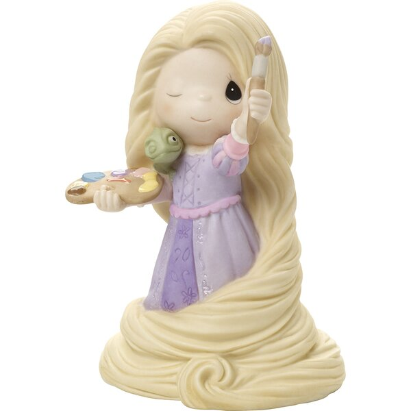 Disney Showcase Express Yourself Rapunzel Figurine by Precious Moments