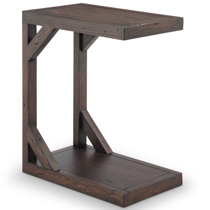 c shape table