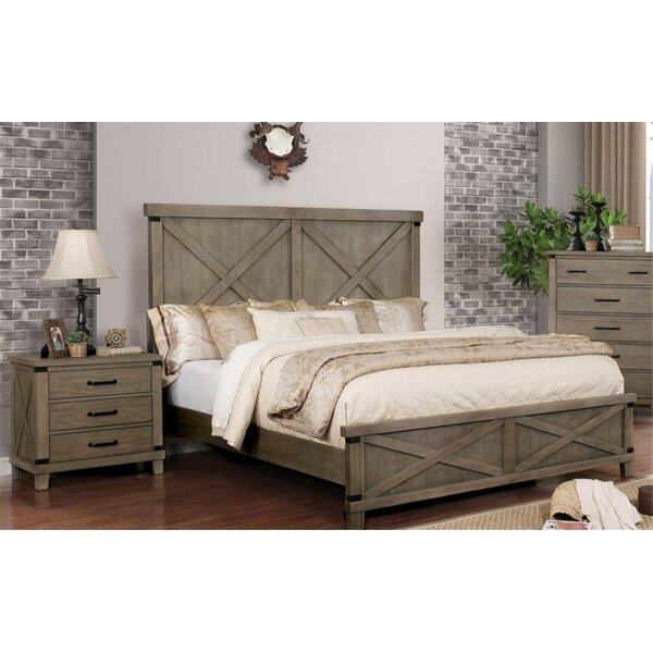 Ashly Standard Bed by Gracie Oaks
