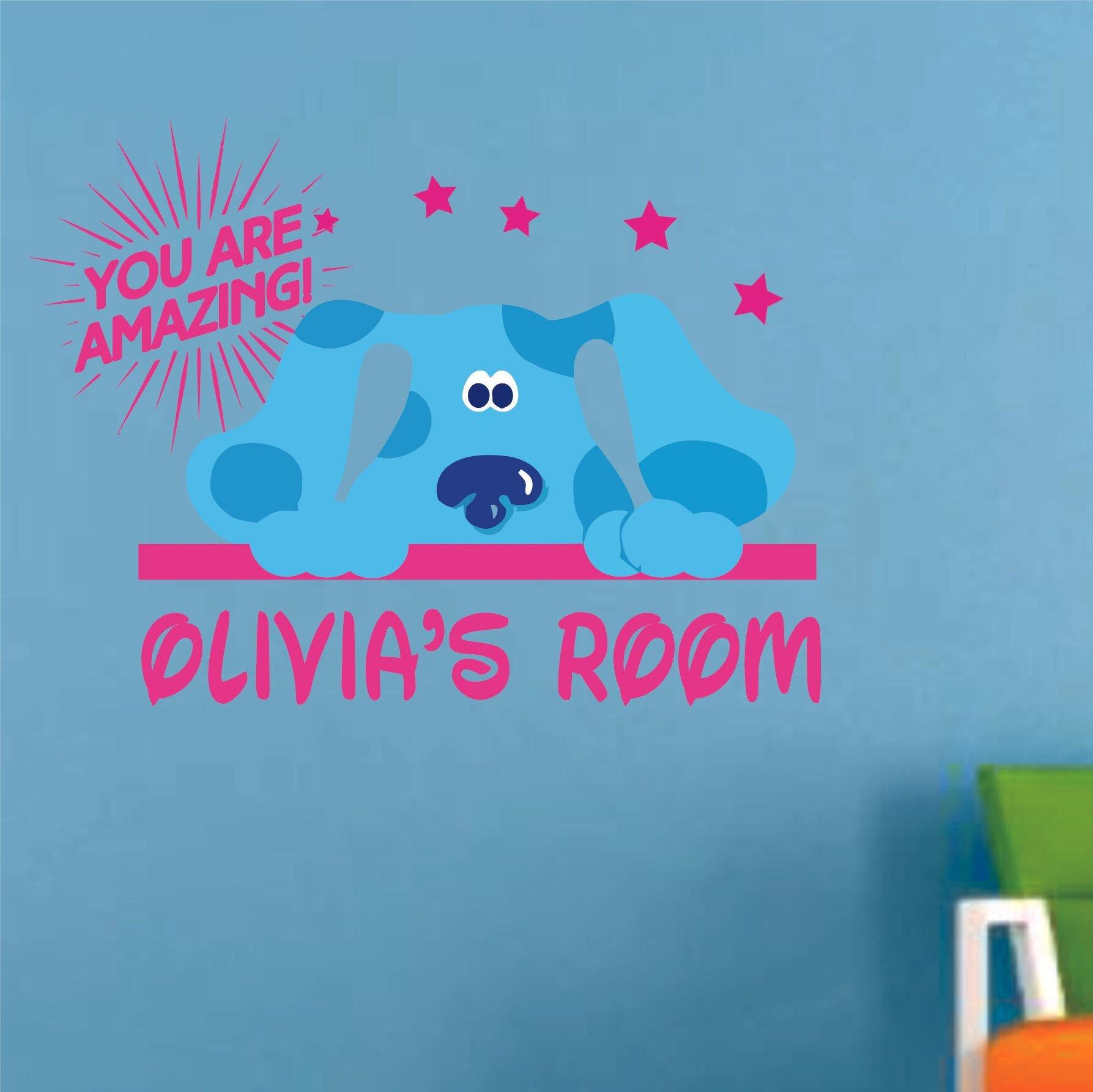 Indoor//Outdoor ZOE Street Sign Childrens Name Room Decal