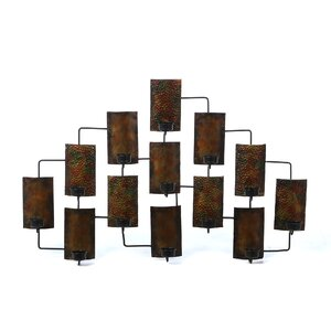 Metal Tealight Candle Wall Du00e9cor