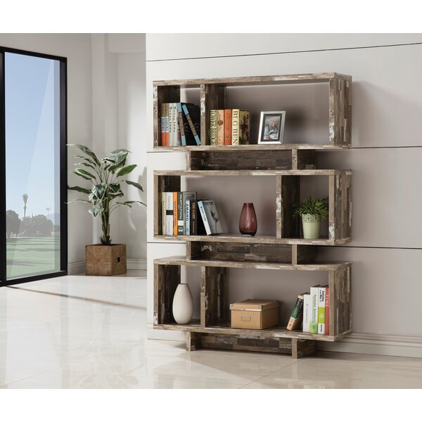 Vale Salvaged Cabin Geometric Bookcase By Foundry Select