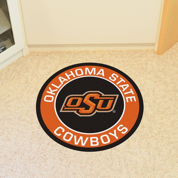 NCAA Oklahoma State University Roundel Mat by FANMATS