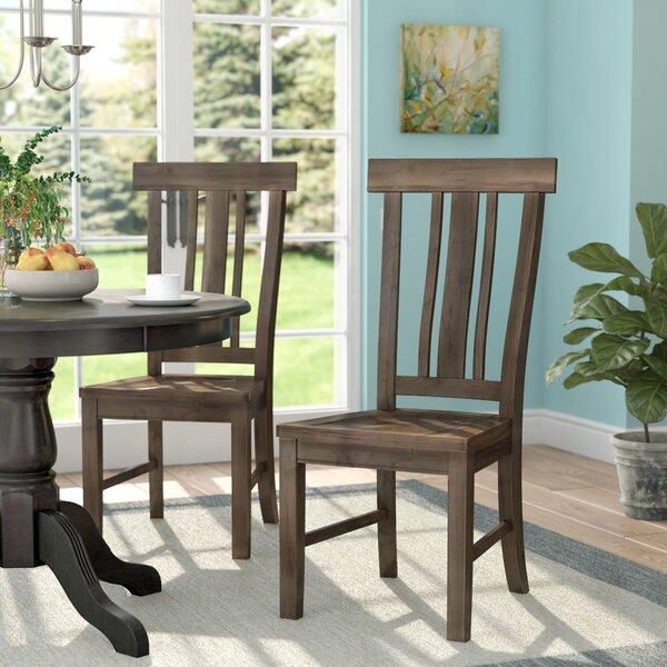 Stotts Slatback Side Chair (Set of 2) by Laurel Foundry Modern Farmhouse