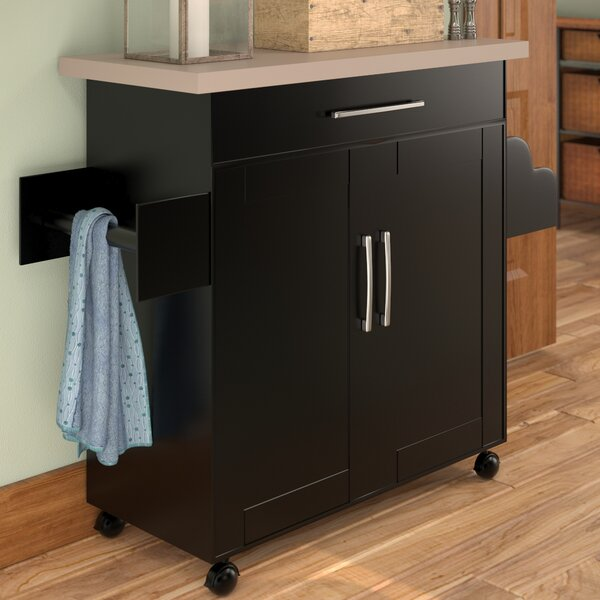 Crisfield Kitchen Island by Charlton Home