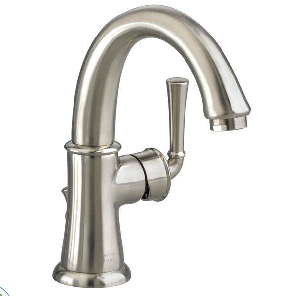 Portsmouth Single Hole Bathroom Faucet with Drain Assembly by American Standard
