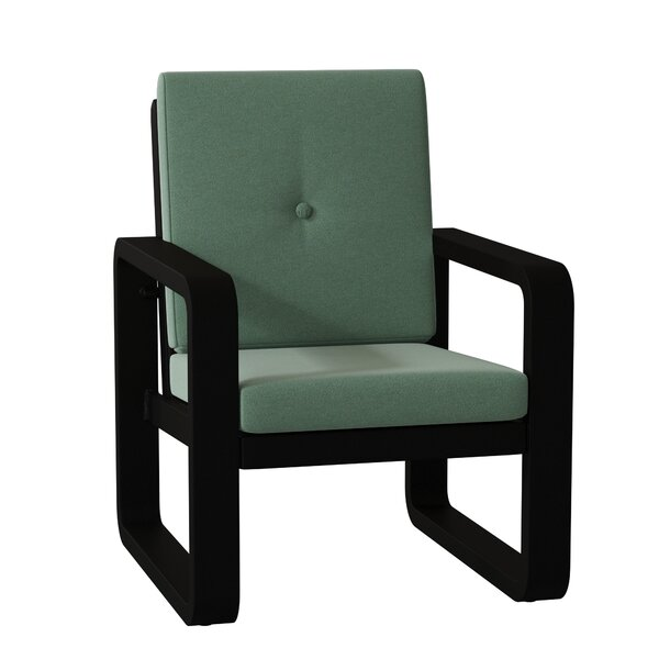 Vale Patio Dining Chair with Cushion by Woodard