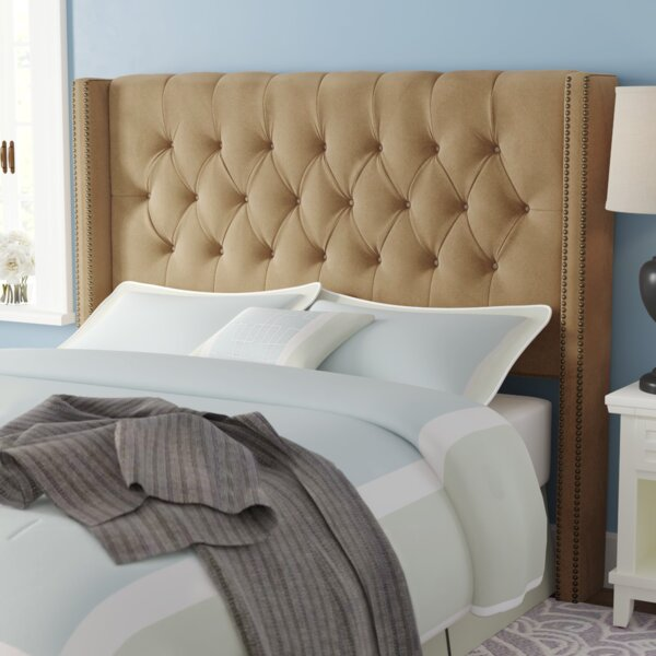 Alling Upholstered Wingback Headboard by Willa Arlo Interiors