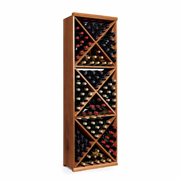 N'finity 132 Bottle Floor Wine Bottle Rack by Wine Enthusiast Wine Enthusiast