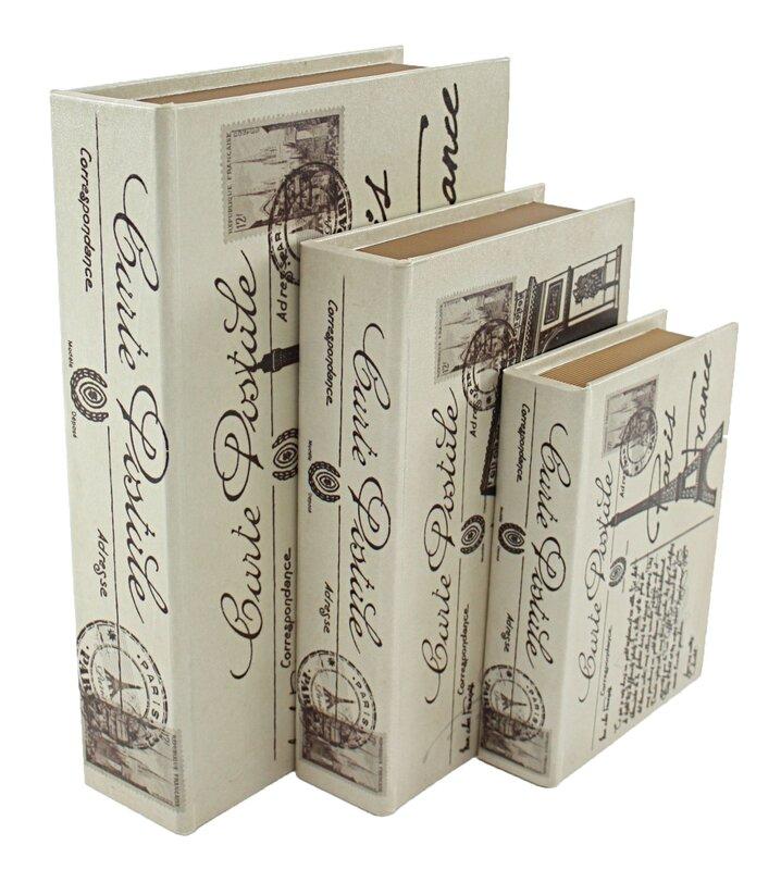 Decorative Fake Book Boxes Alluring Decorative Fake Book Boxes & Classical Fake Book Shape Storage Inspiration Design