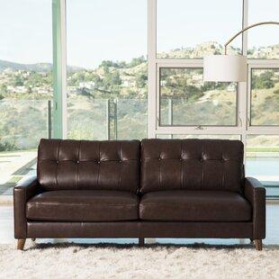 Annalise Leather Sofa