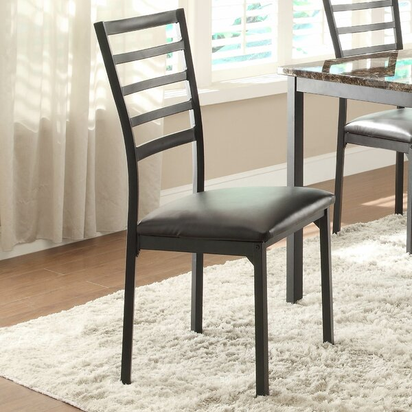 Flannery Upholstered Dining Chair (Set of 4) by Woodhaven Hill Woodhaven Hill