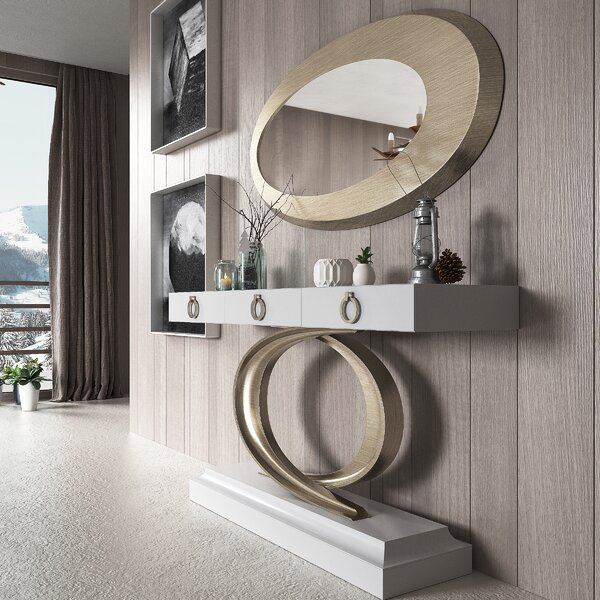 Harwinton Console Table And Mirror Set By Brayden Studio