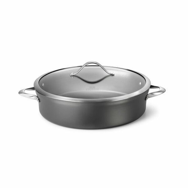 Contemporary Nonstick 7 Qt. Sauteuse by Calphalon