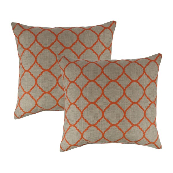 Accord Koi Outdoor Sunbrella Throw Pillow (Set of 2) by Austin Horn Classics