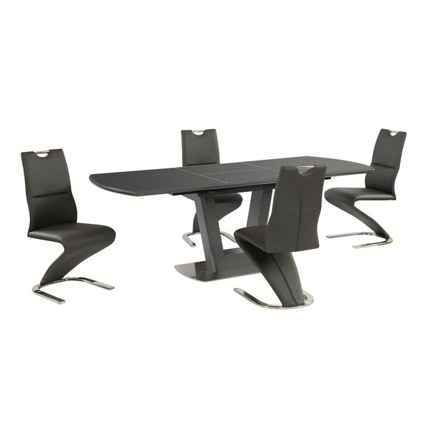 Bawtry 5 Piece Extendable Dining Set by Orren Ellis Orren Ellis