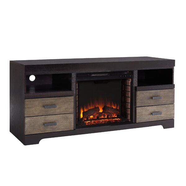 Shroplynn Media Console Fireplace By Union Rustic