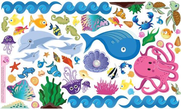 Ocean Girl Wall Decal by Mona Melisa Designs