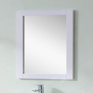 Top Reviews Hodgeman Wall Mirror By Latitude Run