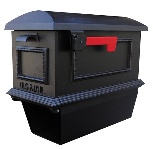 Traditional Curbside Post Mounted Mailbox by Special Lite Products