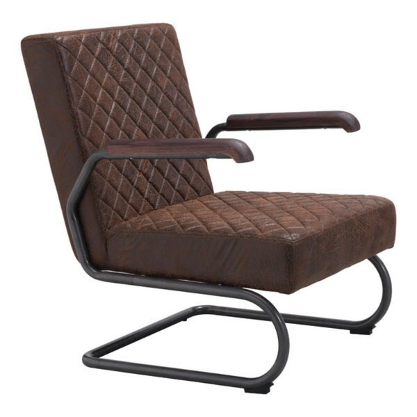 Gloria Lounge Chair and Ottoman by 17 Stories