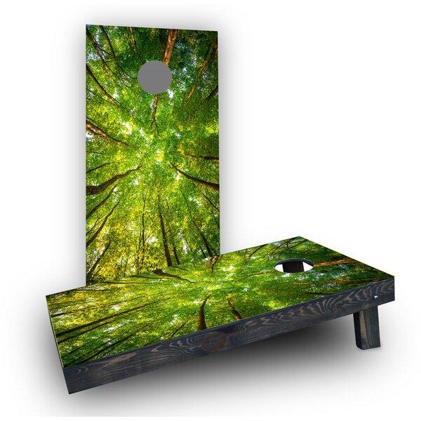 Trees Cornhole Boards (Set of 2) by Custom Cornhole Boards