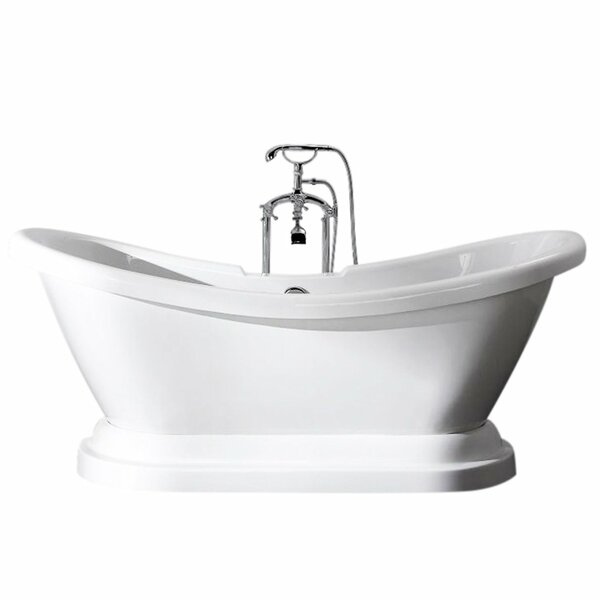 Charlotte 69 x 27 Freestanding Bathtub by Ancona