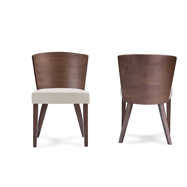 Teri Minimalist Dining Chair (Set of 2) by Brayden Studio Brayden Studio