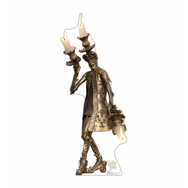 Beauty and the Beast Lumiere Cardboard Standup by Advanced Graphics