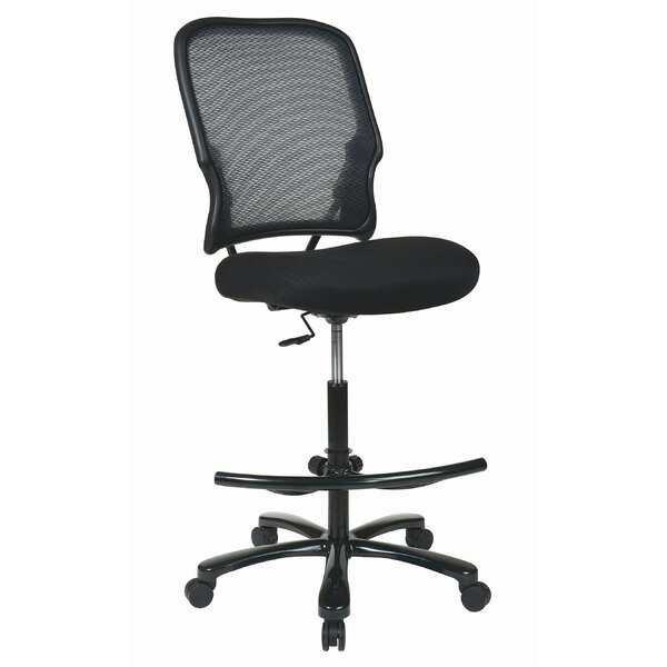 Space High-Back Mesh Drafting Chair by Office Star