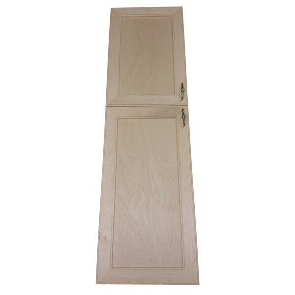 Village 15.5 W x 71 H Recessed Cabinet by WG Wood Products