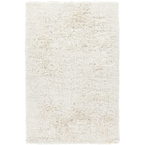 Braunste Handwoven Cream Area Rug by Corrigan Studio