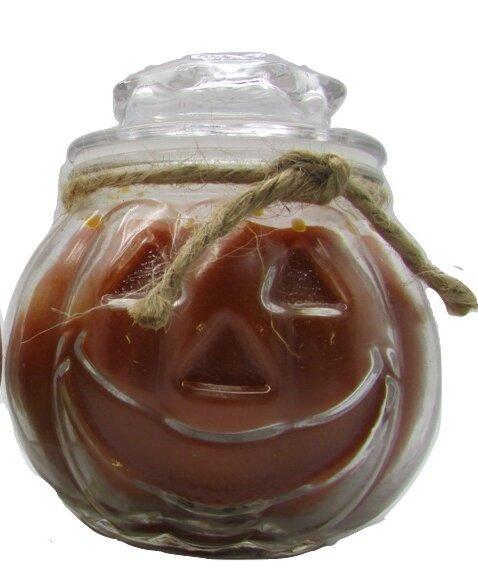 Jack O Lantern Pumpkin Pie Candle by Star Hollow C
