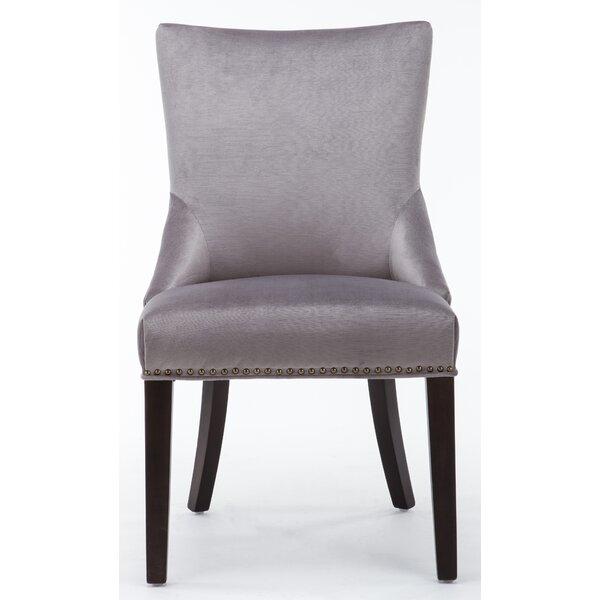 Barr Tufted Velvet Upholstered Side Chair (Set of 2) by Rosdorf Park Rosdorf Park