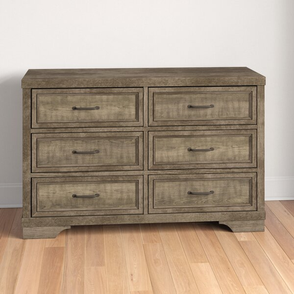 New Ashford 6 Drawer Double Dresser by Three Posts Baby & Kids