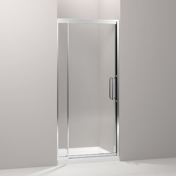 Lattis 39 x 76 Pivot Shower Door by Kohler