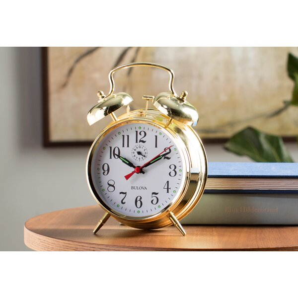 Bellman Mantel Clock by Bulova