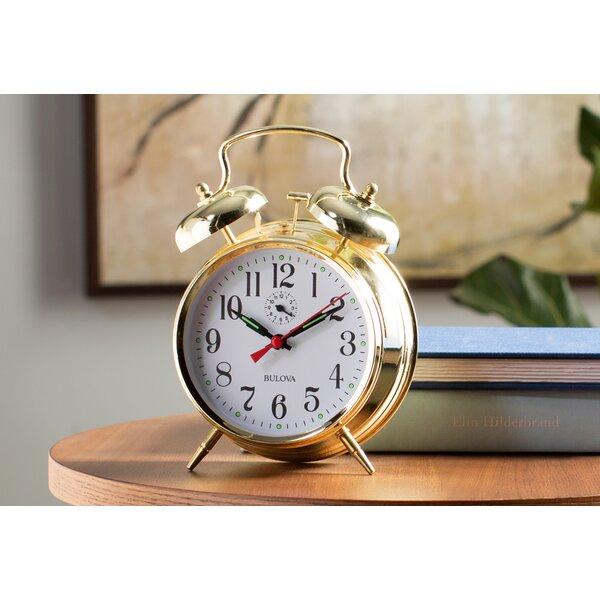 Bellman Mantel Clock by Bulova