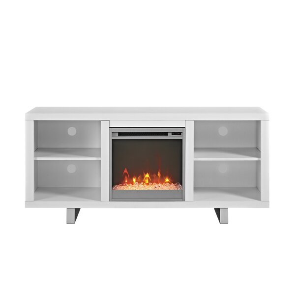 Depasquale 58 TV Stand with Fireplace by Latitude Run