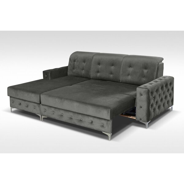 Bowdon Mini Sleeper Sectional by Everly Quinn
